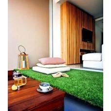 หญ้าเทียม ปูห้องนั่งเล่น